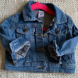 CARTERS baby girl jeans jacket